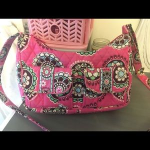 *Vera Bradley* neon pink small purse